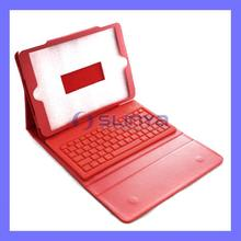 Red Wireless Bluetooth Keyboard Case For iPad Air 5 Cover