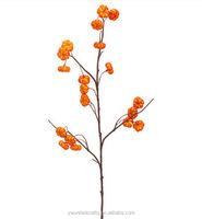 "33"" Artificial Pumpkin Stem -Orange"