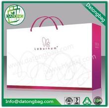 las marcas de lujo embalaje de ropa barata de encargo manejar bolsa de papel