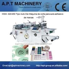 HSM- 320/450 Tipo Auto Die Máquina de corte para <span class=keywords><strong>auto-adhesivo</strong></span> de marcas