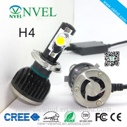 Multifunctional 60w led headlight H4 hi/loled headlight dodge journey fiat freemont