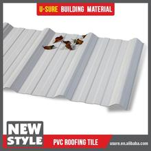 2015 famous brand pvc plastic tile roofing prices