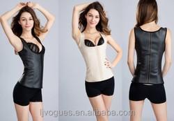 Waist training corset fajas Wholesale 3 Hooks and steel bone