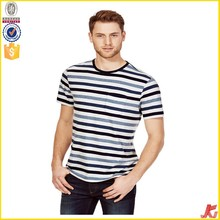 Cool mens t shirt with black stripe