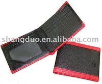 Contrast Color leather women wallet