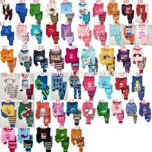 Walson hot sale cartoon kids pajamas two piece