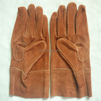 leather protective safety working gloves
