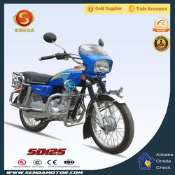 Custom made Used Excellent Material Street Motorcycles in China SD125