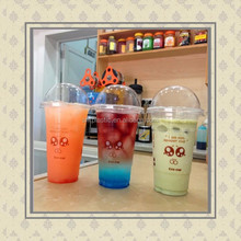 480ml Plastic Party BEAKER TUMBLER STRAW Cocktail Juice Cup Glass Ball Bowl/oem plastic party cup with straw/Cocktail party cup