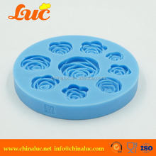 Customized professional silicone lace molds for cake decorating