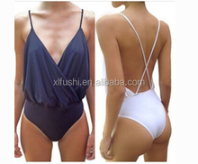 Just Arrivals Popular Mesh Front Sexy High Waist One Piece Swimsuit