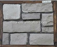 la decoración de la casa de piedra exterior piedras artificiales piedra apilados culturured piedra panel de pared