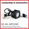 IP68 10W moving head led work light for 4wd rav4 military car