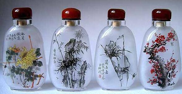 snuff bottle 2jpg - How To Paint Glass Bottle