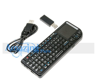 Wholesale Factory Mini Ultra Wireless Keyboard With Touchpad Laser Pointer