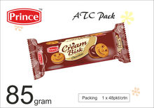 85 gram Chocolate Cream biscuits In ATC Pack Prince Cream