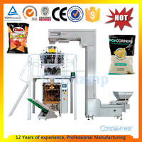 potato chips pouch automatic packing machine