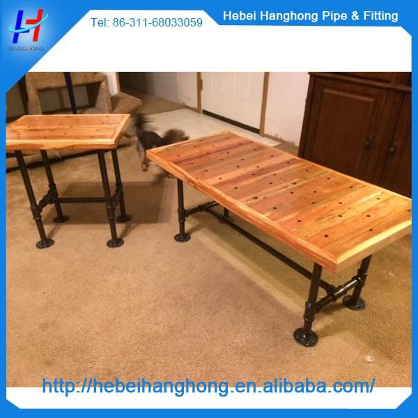 tables et chaises pieds avec 1 2 tuyau en acier. Black Bedroom Furniture Sets. Home Design Ideas