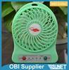 Portable Rechargeable USB Ventilator Desk Mini Fan Handheld Travel Blower Air Cooler,White/Pink/Black/Green/Purple available
