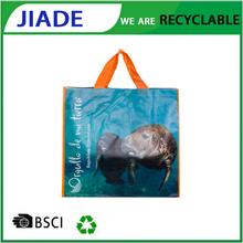 Reuable material popular recycled packaging bag.waterproof eco bag.custom-made bag plastic