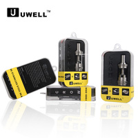 Hottest ecigarette UWELL health-care food grade SS heating coil adjustment airflow CROWN clearomizer hicig mini e cigarette