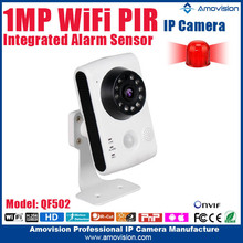 2015 HOT !!! QF502 Onvif HD 720P H.264 support TF card plug and play low lux ip security camera manufacturer