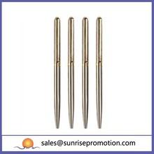 Chrom Slim Stationery Metal Pen/Metal Engraved Pens