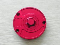 CNC Red Fuel Tank Cap for Motorcycle