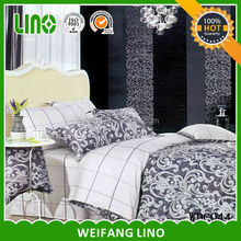 Popular home 100%cotton dyed/printed favor bedding