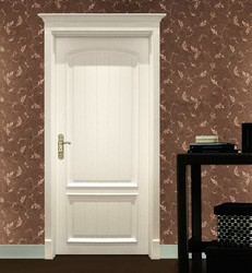 black walnut solid wood interior door
