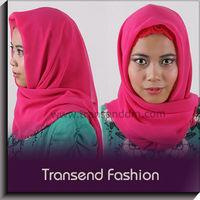 Transed fashion 2012 new design muslim hijab