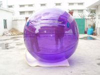 Inflatable water ball, hi bounce ball, pvc water walking roller