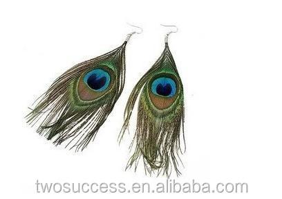 Fashion Large Earrings Peacock Feather Earrings for Women (2).jpg
