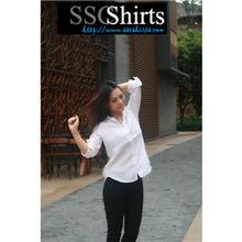 2014 100% de moda casual blusa de lino formal para blusa y pantalon