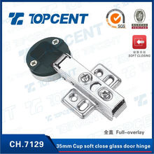 35mm cup soft close nickel finish mirror hinge for kitchen cabinet door hardware