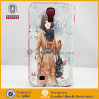 Lady Diary Wallet Case for samsung galaxy i9500