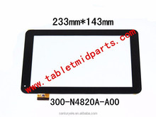 9.0 inch Tablet MID Replacement touch digitizer 300-N4820A-A00