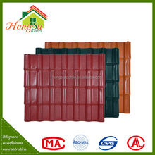 barrel synthetic resin roofing tile from china