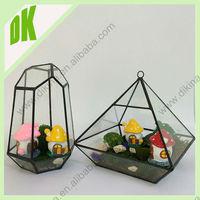 Attention ~ decor for summer patio, beach decor, wedding centerpiece etc... import geometric glass vase cylinder