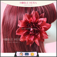 Multi-function Artificial Colorful Chrysanthemu Elastic Hiar Band/ Flower hair clips