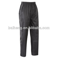 Mens waterproof trouser/men cheap waterproof pants