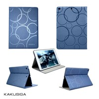 H&H ultra thin& hot design flip leather coach case for ipad 4/coach case for ipad 2 3 4
