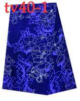 tv40-1 african design new velvet lace material