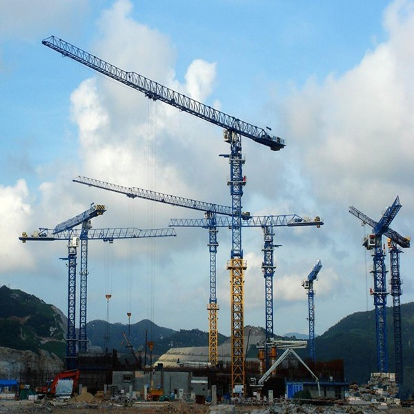 Tower Crane Inventor : Jakarta icon towers sinarmas msig tower chase