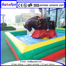 amusement equipment customerized mechanical rodeo bull inflatable