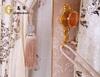 high-grade embroidery jacquard curtain luxurious beads curtains valance