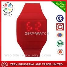 R0464 Multi-Color LED watch winner, plastic strap watch winner