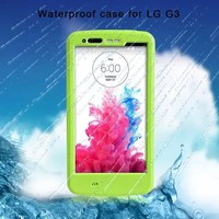 China Factory Protective Redpepper Shockproof waterproof case for lg g3 with kickstand