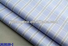 High count checked poplin