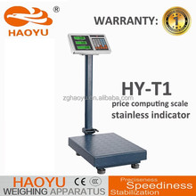 carbon steel digital 300kg 500kg mechanical weighing scale